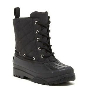 Sperry Top-Sider Quilted Duck Boots Black